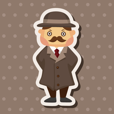 inspector: detective theme elements