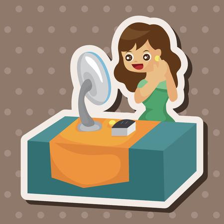 shopaholic: SALE Shopaholic theme elements Illustration