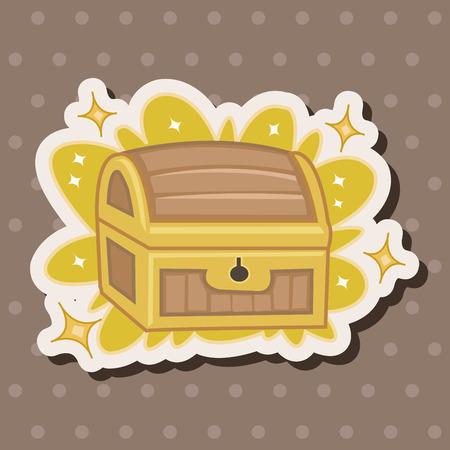 cofre del tesoro: Elementos del tema de tesoro