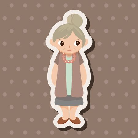 grandmother: family grandmother character theme elements