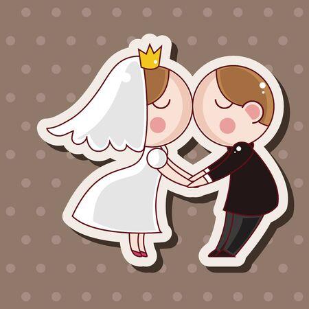 wedding couple: wedding couple theme elements
