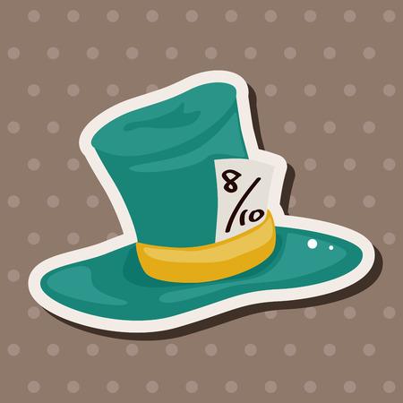 party animal: alice in wonderland theme elements