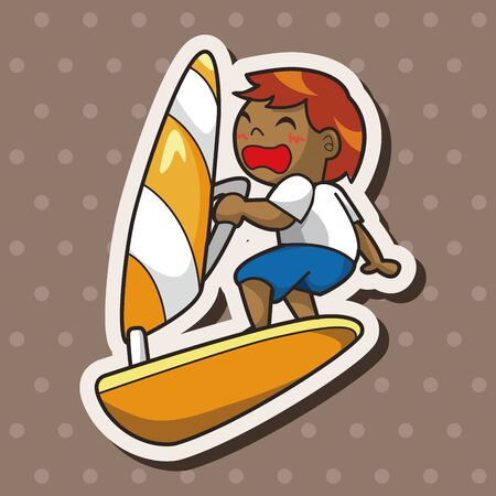 Extreme Sports theme elements Vector