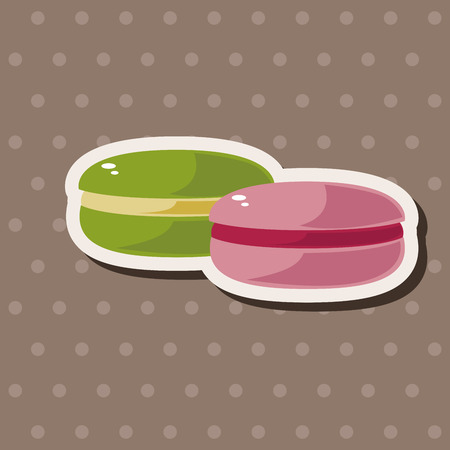 postre: Elementos del tema de postre de gelatina