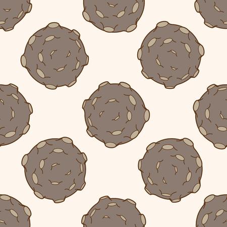 meteorite: Space Meteorite , cartoon seamless pattern background
