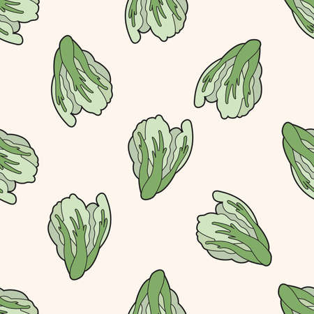 convolvulus: vegetable theme water convolvulus , cartoon seamless pattern background
