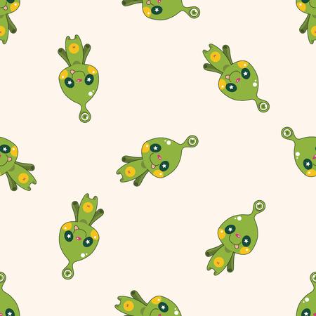 vecotr: monster cartoon vecotr,, cartoon seamless pattern background