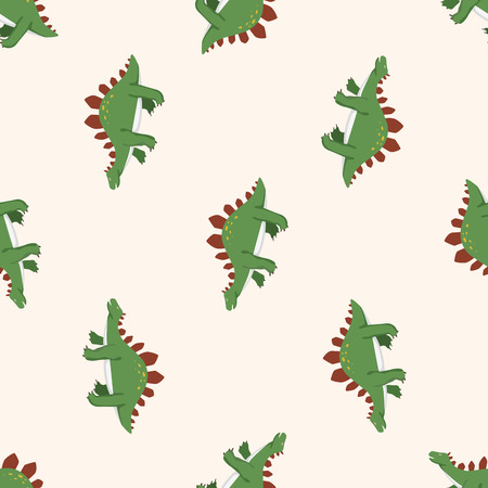 dinosaur cartoon , cartoon seamless pattern background