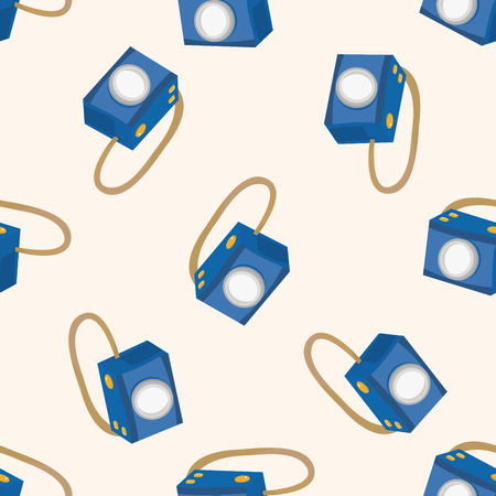 camera , cartoon seamless pattern background photo