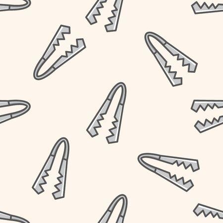 them: tableware them , cartoon seamless pattern background