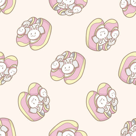 baby shoes: baby shoes style , cartoon seamless pattern background Stock Photo