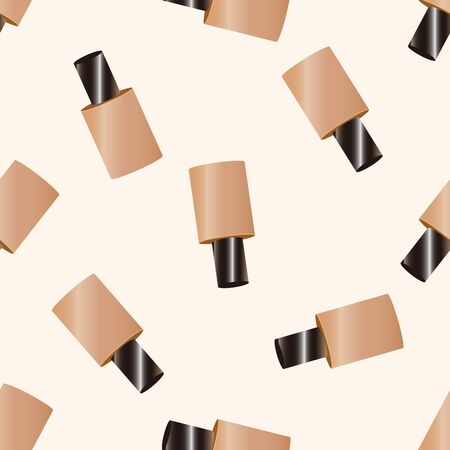 foundation: cosmetics foundation , cartoon seamless pattern background