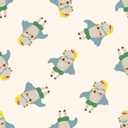 dog summer: animal dog summer cartoon , cartoon seamless pattern background