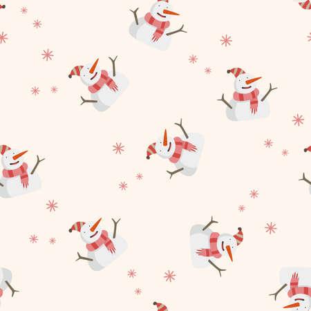 snowy: weather snowy , cartoon seamless pattern background
