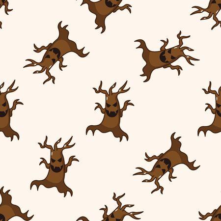 pattern monster: bizarre monster , cartoon seamless pattern background Stock Photo