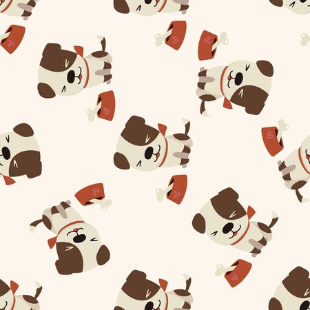 Dibujos animados de perros animales, dibujos animados de fondo transparente Foto de archivo - 40742925