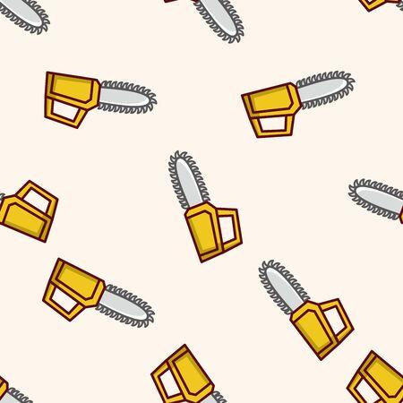 saws: Saws , cartoon seamless pattern background