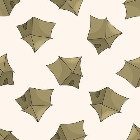 nights: fairytale Aladdin story , cartoon seamless pattern background Stock Photo