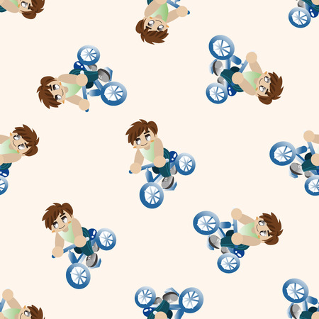 workouts: fitness trainer , cartoon seamless pattern background