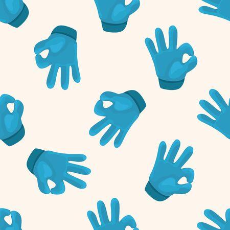 mano cartoon: hand , cartoon seamless pattern background