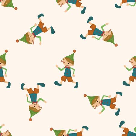 laying little: Pinocchio , cartoon seamless pattern background