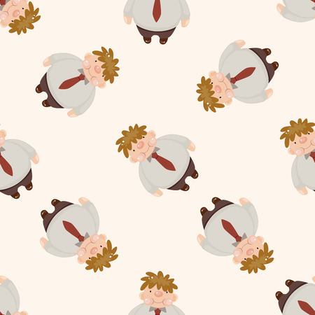 fatty: fatty , cartoon seamless pattern background Stock Photo