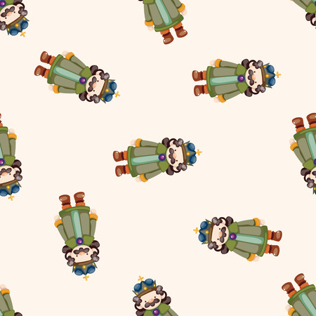 royal background: Royal theme king , cartoon seamless pattern background