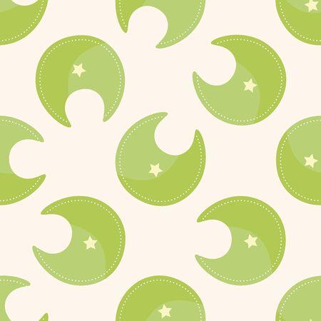 bib: Baby bib , cartoon seamless pattern background