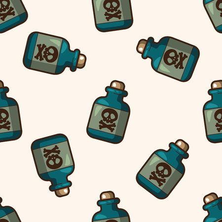 toxic: Toxic chemicals , cartoon seamless pattern background