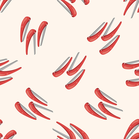 hairpin: hair products theme hairpin , cartoon seamless pattern background