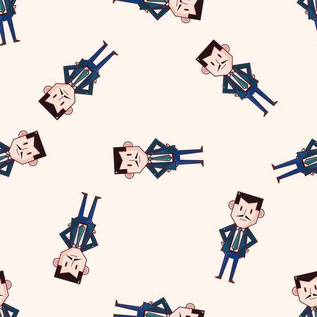 boss cartoon: boss , cartoon sticker icon Illustration
