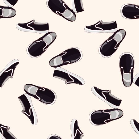 shoes style , cartoon sticker icon Vector