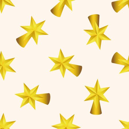 star cartoon: Christmas star , cartoon sticker icon