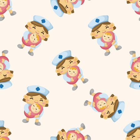 nurse cartoon: nurse , cartoon sticker icon