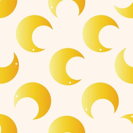 luna caricatura: Luna espacio, icono etiqueta de dibujos animados Vectores