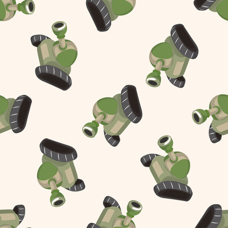 a cannon: cannon ,seamless pattern Illustration