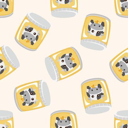 vacas lecheras: leche, sin fisuras patrón