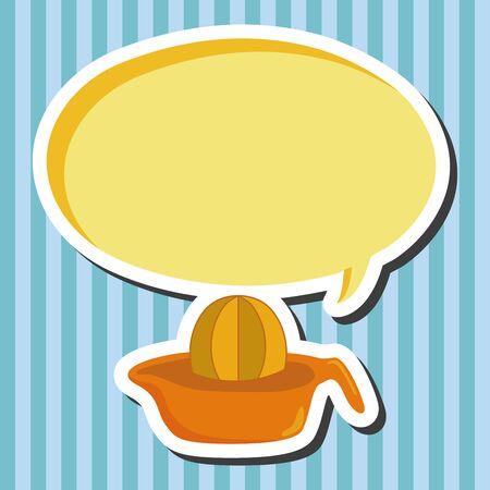 kitchenware juicer theme elements vector,eps Illustration