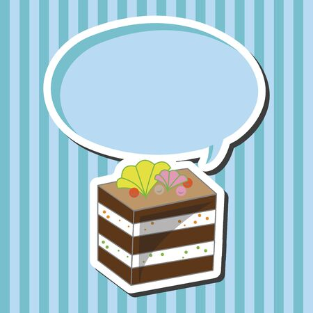 vector eps10: decorating cake theme elements vector,eps10