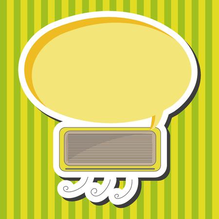 air conditioner: air conditioner theme elements Illustration