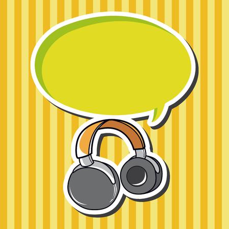 the equipment: Computer-related equipment headphone theme elements