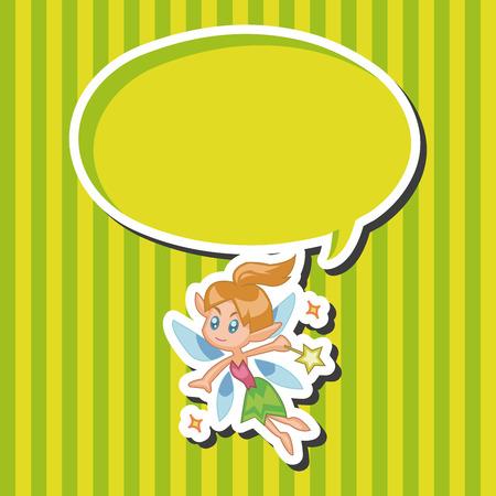 elf queen: fairytale princess theme elements Illustration