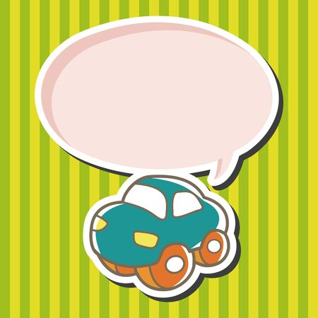 baby toy: baby toy car theme elements