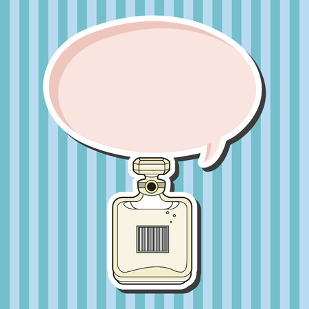 france perfume: france perfume theme elements vector