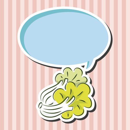 spinat: Gem�se Spinat flach icon Elemente