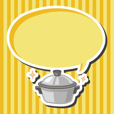 cooker: kitchenware rice cooker theme elements Illustration