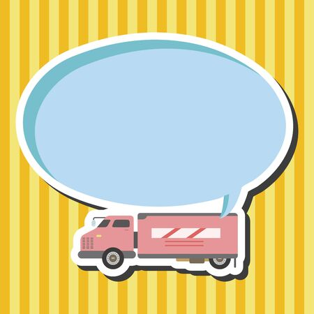 테마: truck theme elements vector,eps