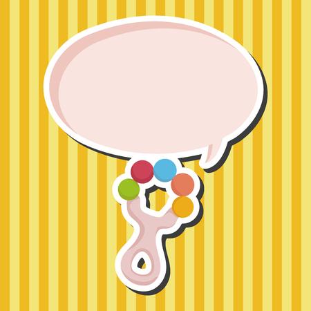 sonaja: Elementos del tema de sonajero beb�