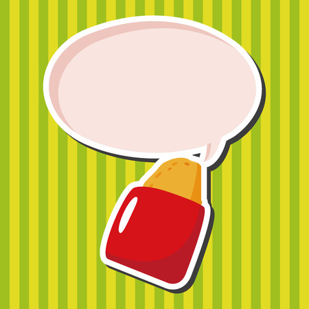 hashbrown: fast foods hashbrown theme elements Illustration