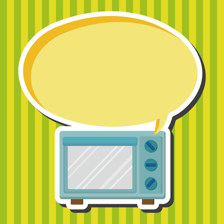 microwave ovens: Kitchenware microwave oven theme elements